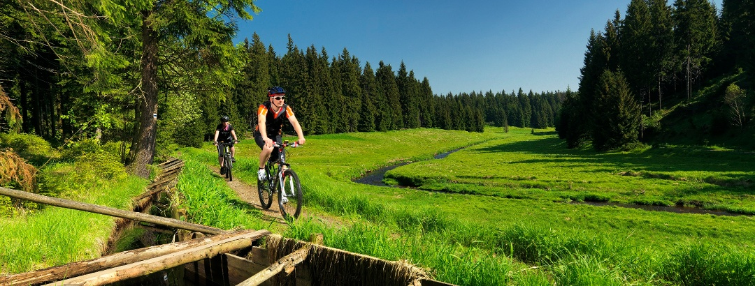 Radfahren im Erzgebirge