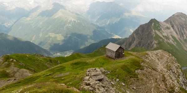 Westerfrölke-Weg mit Böseckhütte und Mallnitz im Tal