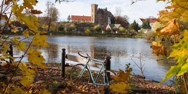 Schloss Ronneburg mit dem Rad entdecken