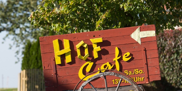 Hofcafé im Kulturhof Zickra