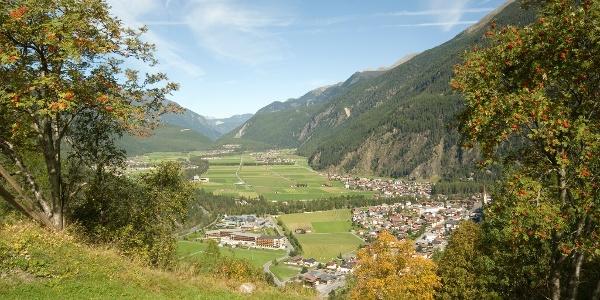 Dorfzentrum von Längenfeld