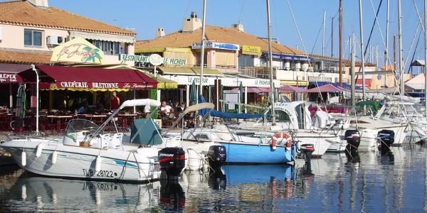 Yachthafen am Mittelmeer
