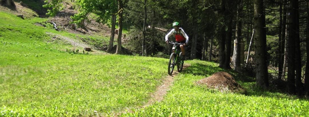 Mountainbiken am Pizol