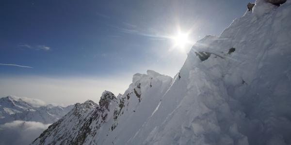 Aufstieg zu Fuß zur Rainbachspitze