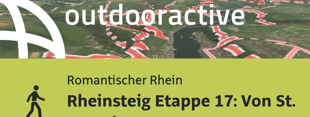 Wanderung am Romantischen Rhein: Rheinsteig Etappe 17: Von St. Goarshausen nach Kaub