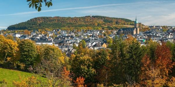Stadttotale Herbst