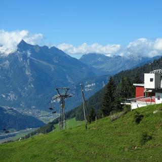 Sesselbahn Mattstock, Bergstation.