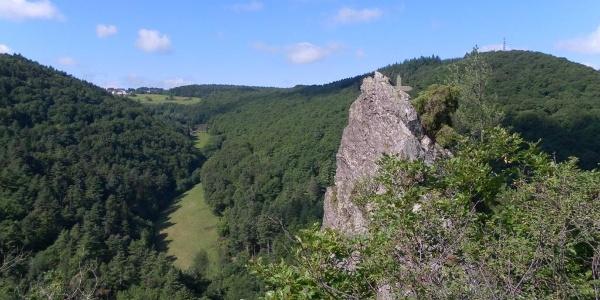 """Goldenes Kreuz"" in the forest of Bernkastel-Kues"