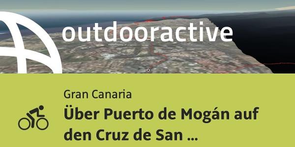 Rennradtour auf Gran Canaria: Über Puerto de Mogán auf den Cruz de San Antonio