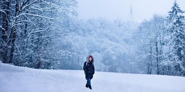 Wandern durch die Ebbser Winterlandschaft