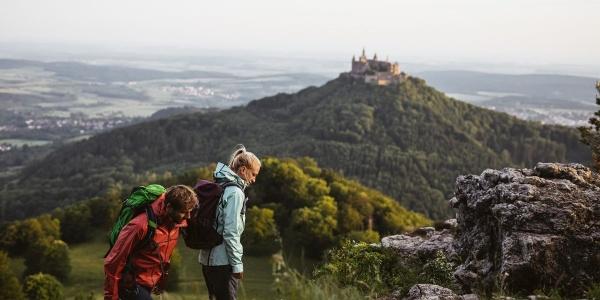 Zeller Horn und Burg Hohenzollern
