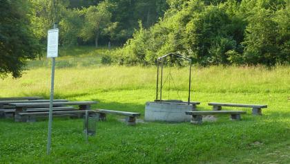 Grillplatz am Stausee Fichtenberg