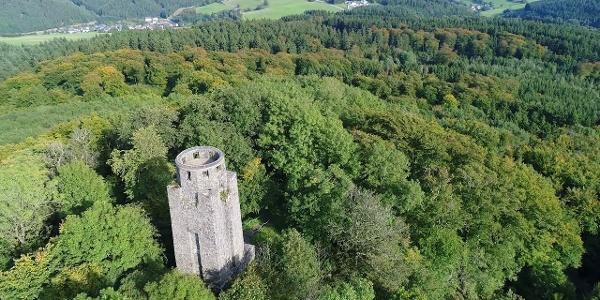 Der Kaiser-Wilhelm-Turm auf der Hohen Acht