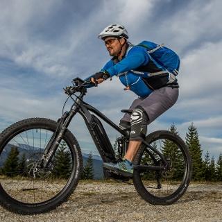 Mountainbiking rund um den Windpark Pretul