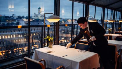 Restaurant Savoy, entworfen von Alvar Aalto