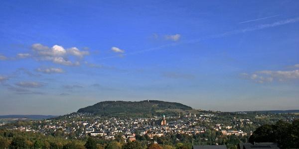 Blick auf Annaberg-Buchholz