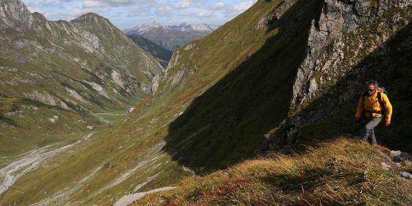 Aufstieg Richtung Fallenbacher Joch