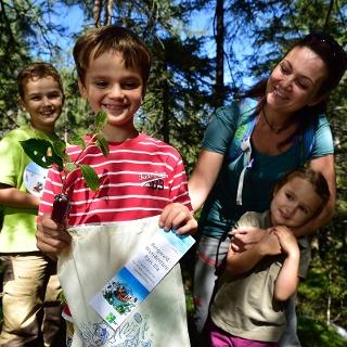 Unterwegs mit der Bergwaldwundertüte Parc Ela