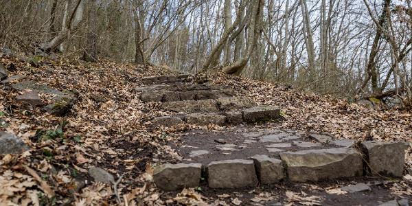 Jó sok lépcsőfokot le kell küzdenünk