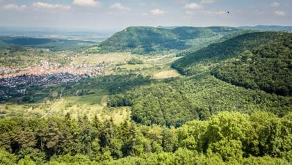 Ausblick vom Hohenneuffen