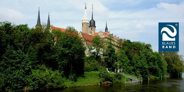 Blick zum Dom und Schloss in Merseburg