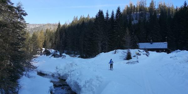 vorbei an der Rahnstube 1.154 m ...