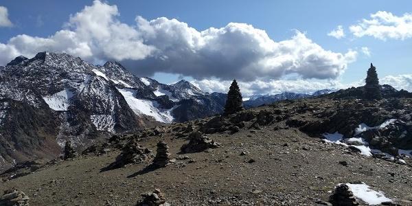 KleinTibet auf 3000m, Blick zur Saldurspitze