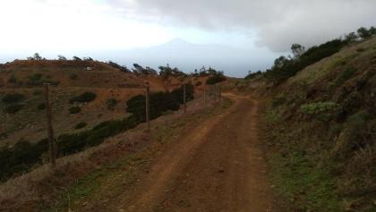 Weg zum Punta de Aluala