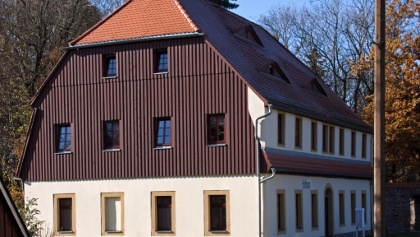 Alte Mordgrube mine - Administration and assembly building