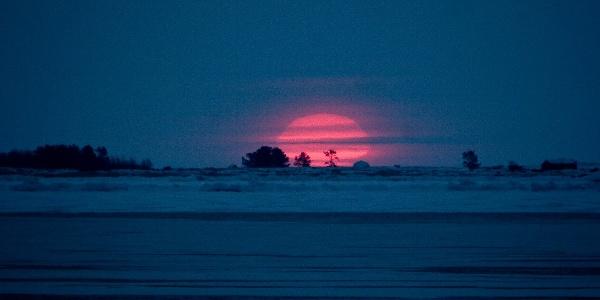 Kvarken Archipelago UNESCO World Heritage Sunset