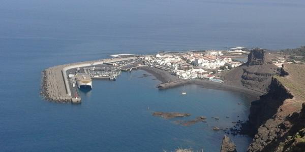 Agaete harbour