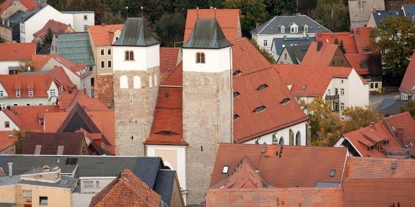 Historische Altstadt von Freiberg - Nikolaikirche