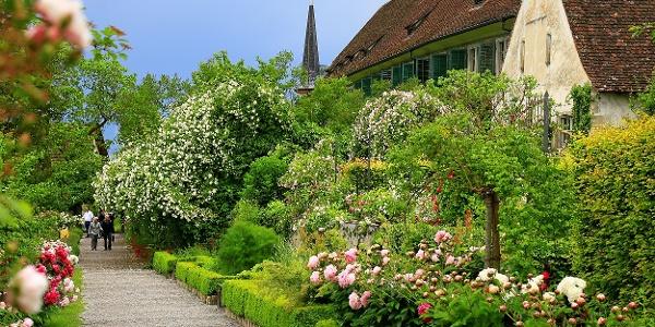 Im Garten der Kartause Ittingen.