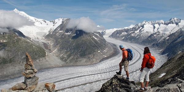 Aletschgletscher, View Point, Eggishorn