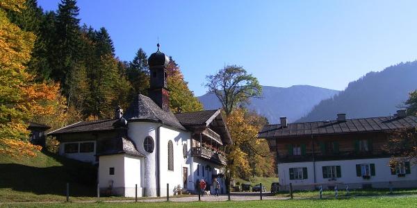 Kirche zum heiligen Kreuz in Bad Kreuth