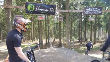 Mountain Bike park at Simonskall