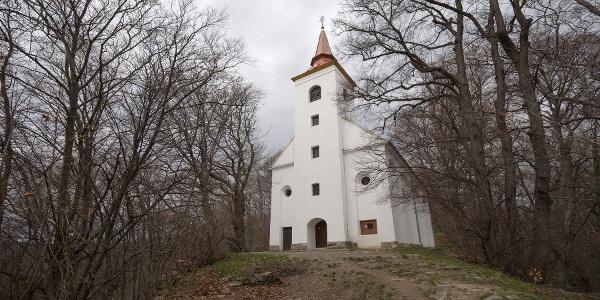 A Szent Vid kápolna homlokzata
