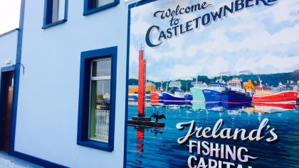 A colourful welcome to Castletownbere