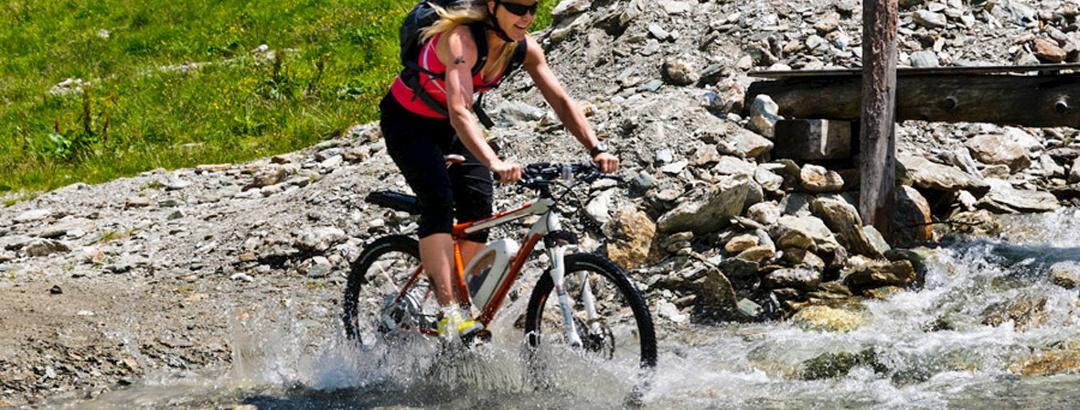 E-Bike Verleih und Ladestation