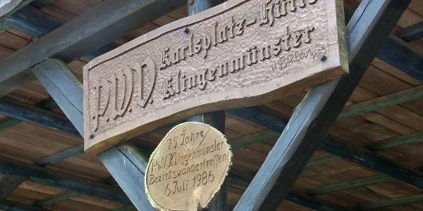An der Karlsplatzhütte