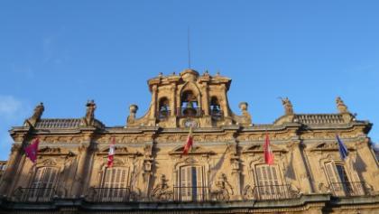 Das Rathaus von Salamanca