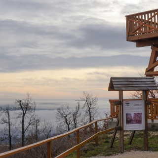 Panorama aus dem Kinizsi Pál-Aussichtsturm