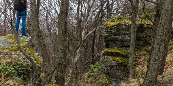 A Széles-kő a Kőszegi-hegységben