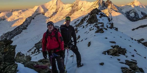 Viertausender im Berner Oberland