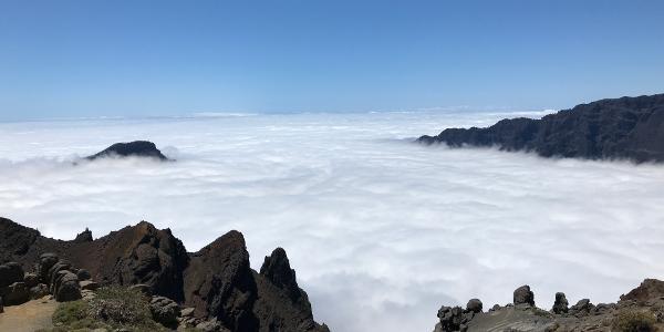 Pico Bejenado im Nebel