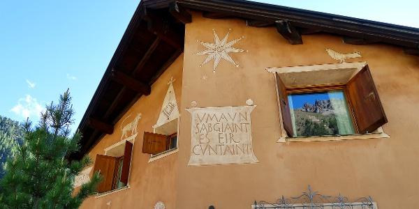 Engadiner Haus in Pontresina.