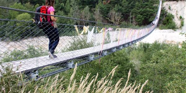 Bhutanbrücke.