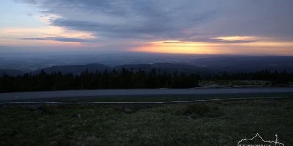 Harzer Gipfeltour   Sonnenaufgang auf dem Brocken