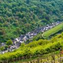 Manubach im Gailsbachtal, einem Seitental vom Rhein
