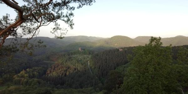 Ausblick vom Krappenfels